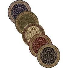 Round Flower Rugs 3 Round Area Rugs Roselawnlutheran