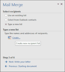mail merge from excel how to use mail merge in microsoft word to create batch documents