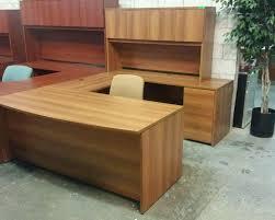 U Shape Office Desk by Avant Cherry U Shaped Desk Toronto New U0026 Used Office Furniture