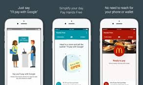 google images hands google s experimental hands free app that lets you pay using your