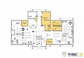 Public Library Floor Plan by Orono Public Library Wbrc Architects Engineers