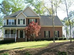 cream siding with red brick exteriors pinterest gray siding