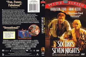 six days seven nights 1998 ws r1 dvd cd label dvd