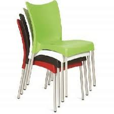 chopin green cafe chairs all weather outdoor furniture