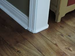 Laminate Flooring In Doorways Great Fix For Gaps Under Door Casings