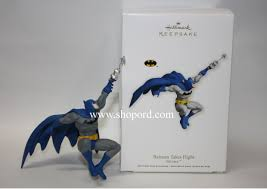 hallmark 2011 batman takes flight batman ornament qxi2607