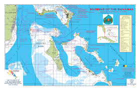 Bahamas World Map Official Boating And Fishing Map Of The Bahamas Now Available