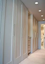 Wall To Wall Closet Doors Bedroom Design Accordion Closet Doors Bifold Doors New Closet