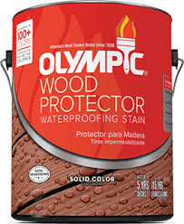 solid wood stain colors olympic