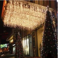 Christmas Decorations With Lights Indoors by Led Curtain Lights Christmas Decoration Lamp Ice Bar Lamp String