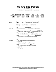 we are the sheet by empire of the sun lyrics chords