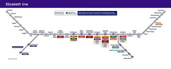 Tube Map London Elizabeth Line Here U0027s How The London Tube Map Will Look In 2019