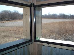 deer blind window plans u2022 window blinds