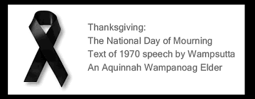 thanksgiving the national day of mourning text of 1970