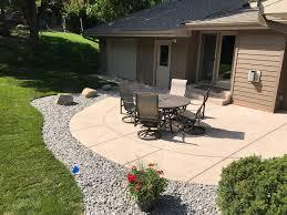 Sted Concrete Patio Design Ideas Backyard Concrete Patio Ideas For Small Backyards Patio Design