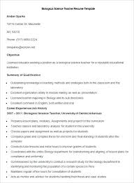 Template For A Resume Microsoft Word 51 Teacher Resume Templates U2013 Free Sample Example Format