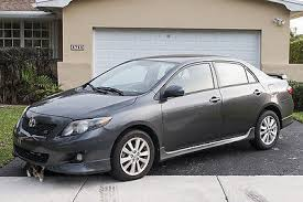 toyota corolla s 2009 for sale 2009 toyota corolla s sedan 4 door 1 8l 41 742 one owner