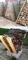 Simple Wood Storage Shelf Plans by Best 25 Outdoor Firewood Rack Ideas On Pinterest Wood Rack