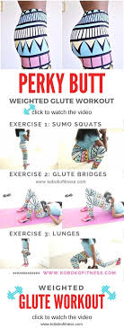 how to a bigger weighted glute workout koboko fitness