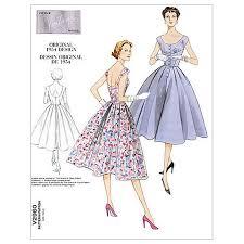 dress pattern john lewis vogue women s vintage model dresses sewing pattern 2960 at john lewis