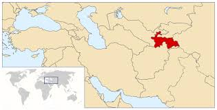 Asia On Map by Maps Of Tajikistan Detailed Map Of Tajikistan In English