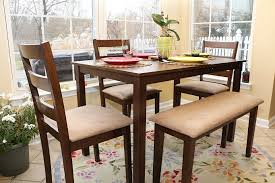 Costco Dining Table Oak Table With Bench Dining Table Sets Costco Dining Sets For 4