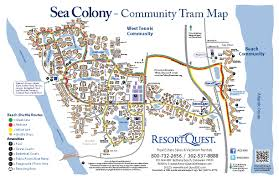 Pismo Beach Map Sea Colony Bethany Beach Best Beach Pictures