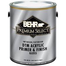 Exterior Metal Paint - behr premium 1 gal glossy direct to metal acrylic interior