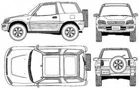 dimensions of toyota rav4 the blueprints com blueprints cars toyota toyota rav4 swb