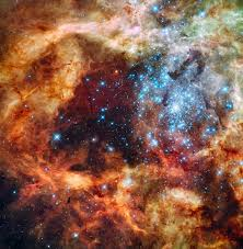 hubble space telescope sees cosmic ornament the
