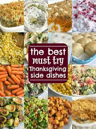 the best thanksgiving side dish recipes together as family