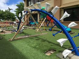 new playground on ipa campus island pacific academy