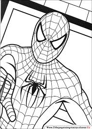 collection solutions printable spider man colorear free
