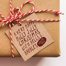 buy set of five holly jolly christmas gift tags made by rosie jo u0027s
