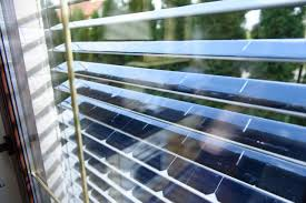 this kickstarter wants to turn your window blinds into solar power