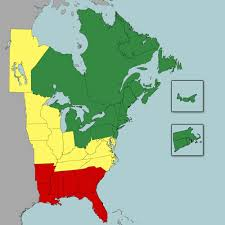 Map Of North East America by Bup Confidence Map Biodiversity In Focus Blog