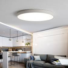 Bedroom Lighting Uk 24w Led Ceiling Light Flush Mount Fixture L Kitchen
