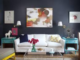 diy livingroom decor a painter s small diy condo design hgtv