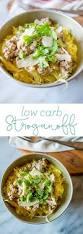 Low Carb Comfort Food Low Carb Squash Stroganoff