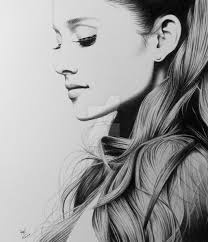 ariana grande pencil sketch best pics drawing of sketch