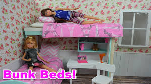 Plans For Making A Bunk Bed by How To Make Barbie Bunk Bed Barbie Really Talks Barbie