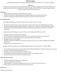 Sample Resume For Restaurant Manager by Sample Resume For Flight Attendant Position 7259
