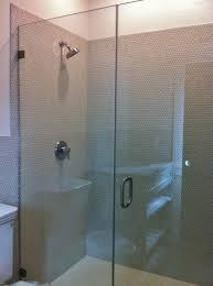 penny round tile on shower walls tile jobs we u0027ve done