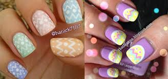 Easter Nail Designs Easy Easter Themed Egg Nail Art Designs U0026 Ideas 2014 Fabulous