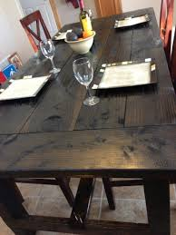 How To Build Farm Table by Distressed Farm Table Project How To Build A Farm Table For 100
