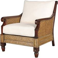 Rattan Accent Chair Wicker Accent Chair For Alluring Amazing Rattan Intended Chairs