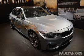 Bmw I8 Mission Impossible - the battered f80 bmw m3 from mission impossible