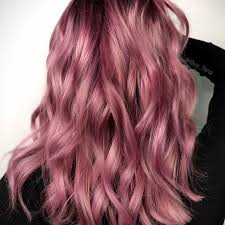 rose gold hair color sunset pink and rose gold hair colors are trending for valentine s