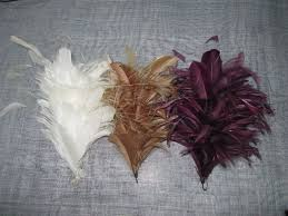 feather flower white peacock feather flower fascinator for fashion hat