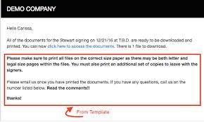 email settings customizing email templates u2013 snapdocs